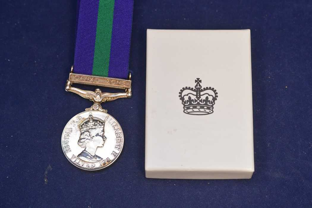 Lot 311-Canal Zone general service medal
