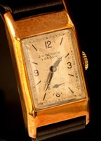 Lot 1170 - J W Benson wristwatch