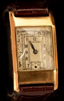Lot 1169 - Art Deco wristwatch