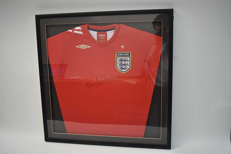 Lot 311-Jackie Charlton signed shirt