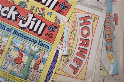 Lot 940 - A Collection of British and American Comics