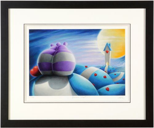Lot 126-Peter Smith print