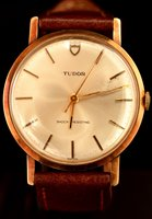 Lot 1177 - Tudor: a 9ct yellow gold cased wristwatch, the...