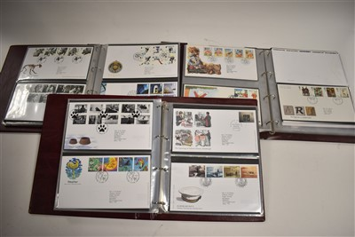 Lot 7-Three albums of First Day Covers