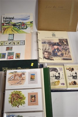 Lot 9-Presentation stamps and First Day Covers