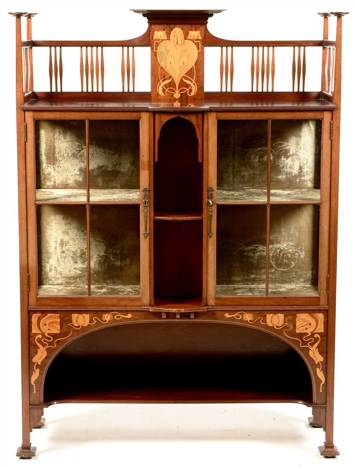 855 - Shapland & Petter Display cabinet