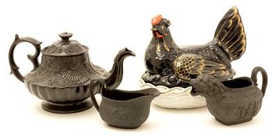 Lot 104 - Miscellaneous 19th Century china.