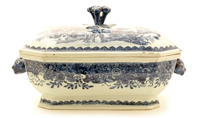 Lot 3-A Chinese Export tureen and cover.