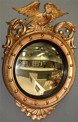 Lot 762 - Regency Convex Mirror
