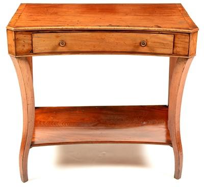 Lot 764 - A 19th Century mahogany side table.