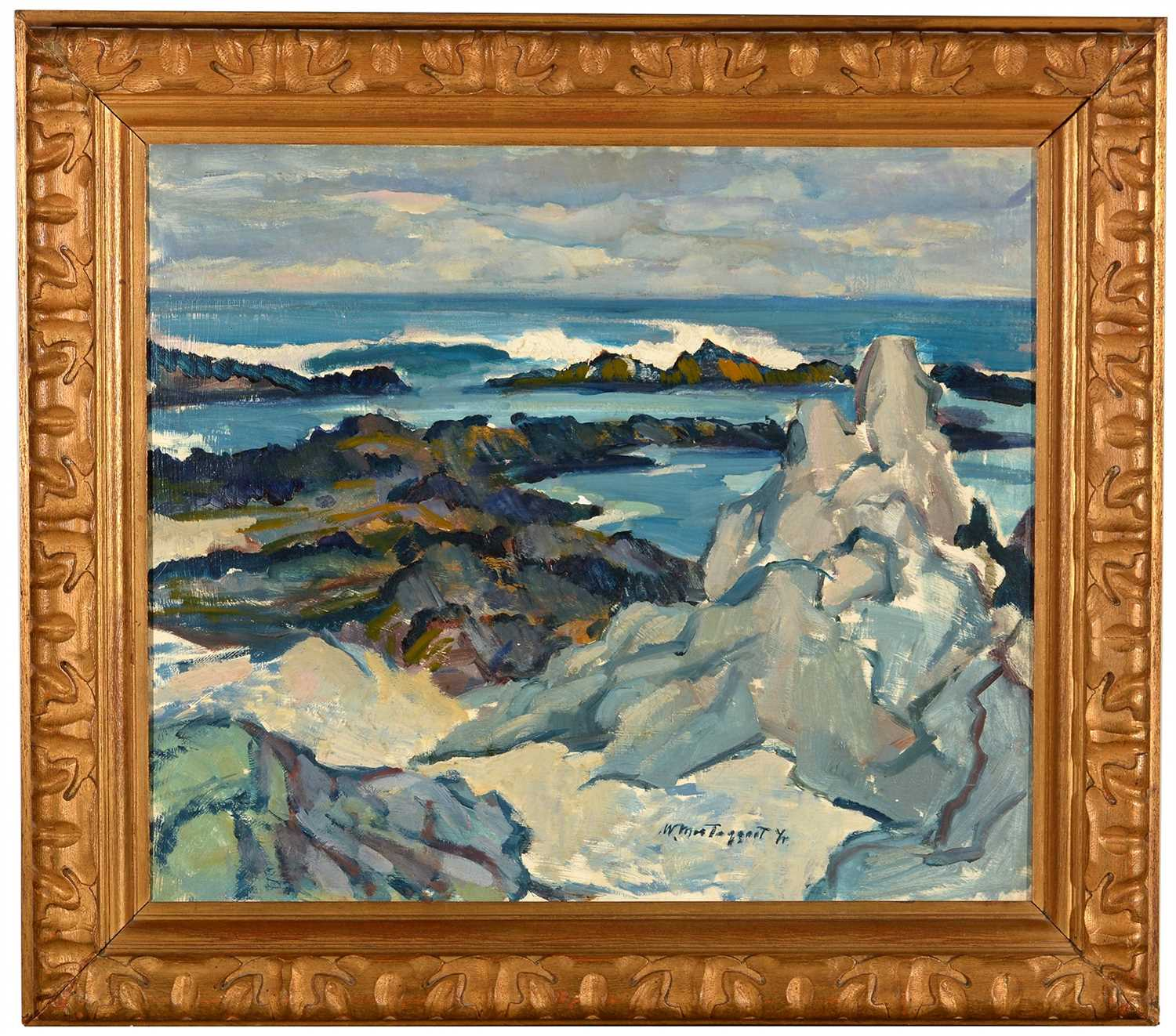 Lot 325-Sir William MacTaggart, PRSA, RSW - oil.