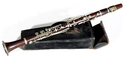 Lot 11 - Hawkes Rosewood Clarinet