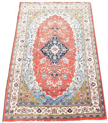 Lot 700 - Qum rug