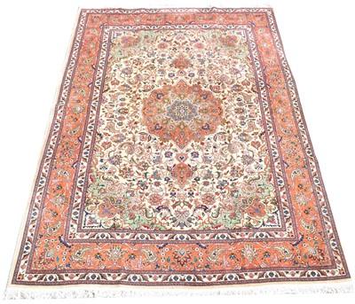 Lot 706 - Tabriz carpet