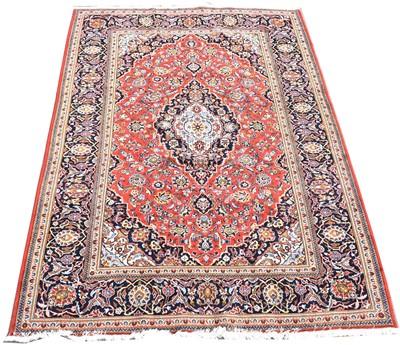 Lot 708 - Kashan carpet