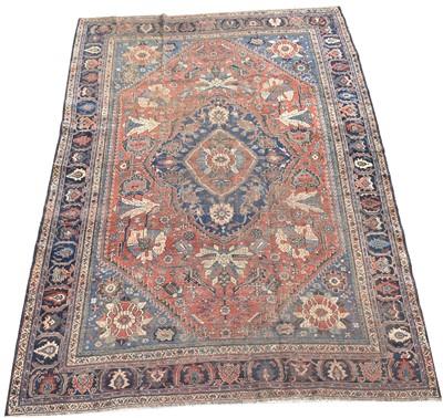 Lot 709 - Qashqai carpet