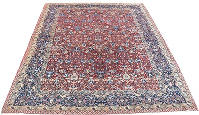 Lot 718 - Tabriz carpet