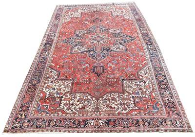 Lot 719 - Heriz carpet