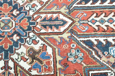 Lot 891 - Heriz carpet