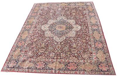 Lot 727 - Kirman carpet