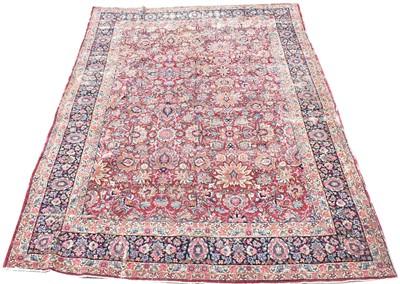 Lot 732 - Lavar Kirman carpet