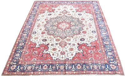 Lot 733 - Tabriz carpet