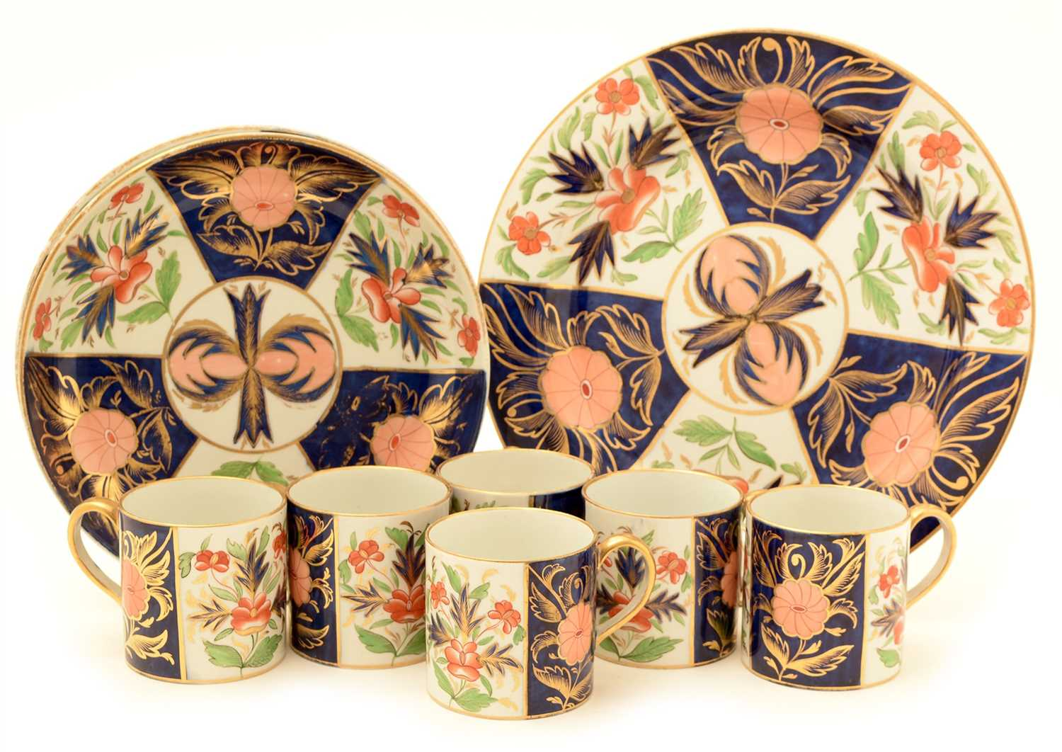 Lot 100 - An early 19th Century Wedgwood Pearlware part service.