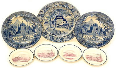 Lot 84 - Miscellaneous plates.