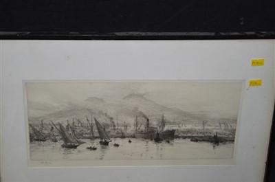 Lot 171-William Lionel Wyllie etching