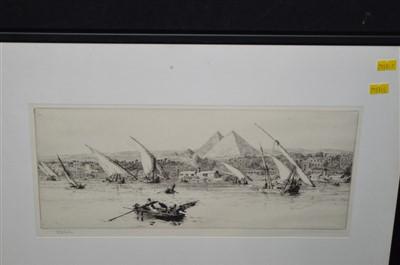 Lot 174-William Lionel Wyllie etching