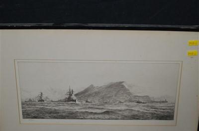 Lot 173-William Lionel Wyllie etching