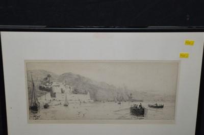 Lot 170-William Lionel Wyllie etching