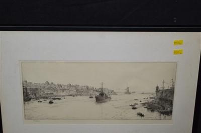 Lot 169-William Lionel Wyllie etching