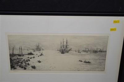 Lot 172-William Lionel Wyllie etching