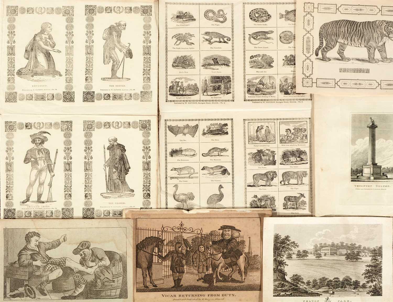 Lot 392-William Davidson of Alnwick - prints.