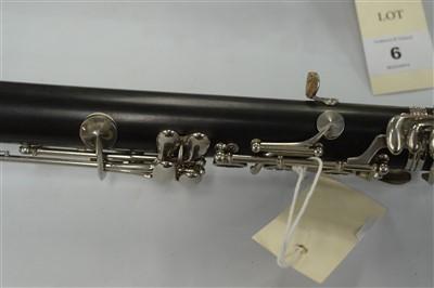 Lot 5-A Buffett Crampon et Cie Blackwood Clarinet