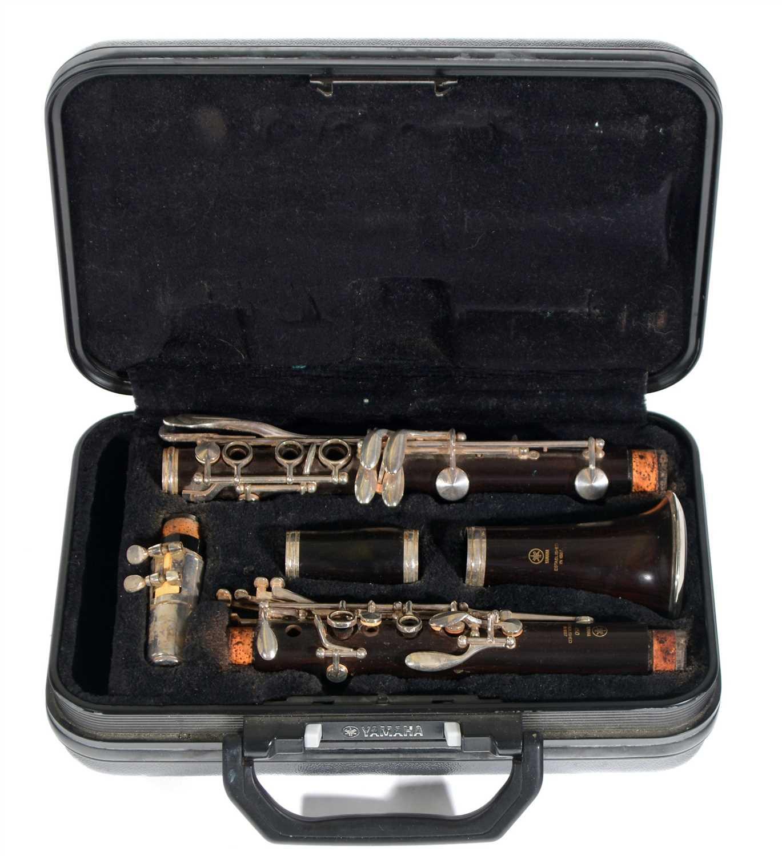 Lot 7-Yamaha 450 Bb Clarinet Cased