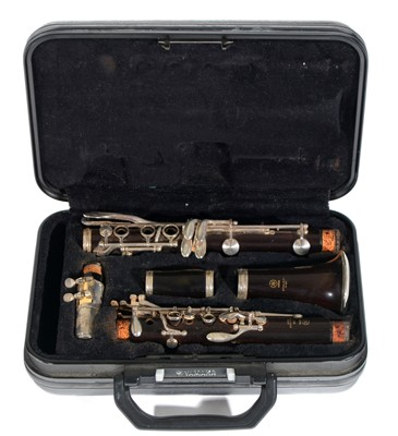 Lot 7-Yamaha 450 Bb Clarinet Cased