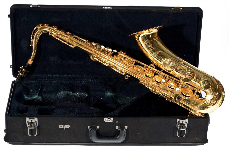Lot 8-A Yamaha YTS 62 Tenor Saxophone
