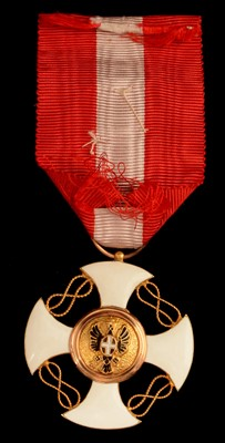 Lot 1510-Order of the Crown of Italy 4th class