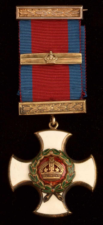 1526 - Distinguished Service Order and bar