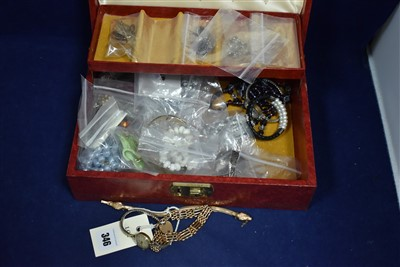 Lot 346-Snake bracelet and other jewellery