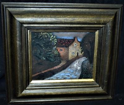 Lot 565-Richard Cartwright pastel