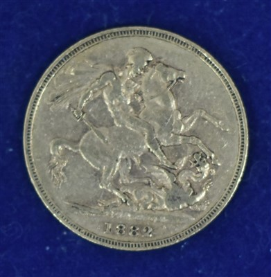 Lot 341-Queen Victoria gold sovereign
