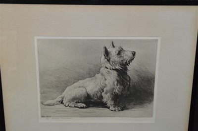 Lot 536-Herbert Dicksee etching