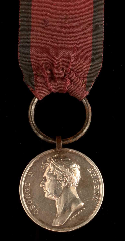 1582 - George III Waterloo medal
