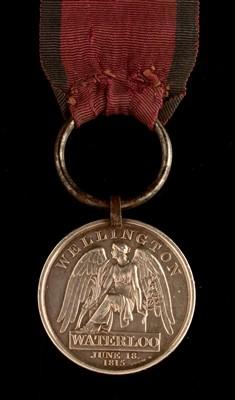 Lot 1582 - George III Waterloo medal