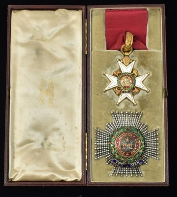 Lot 1512-The Most Honourable Order of the Bath