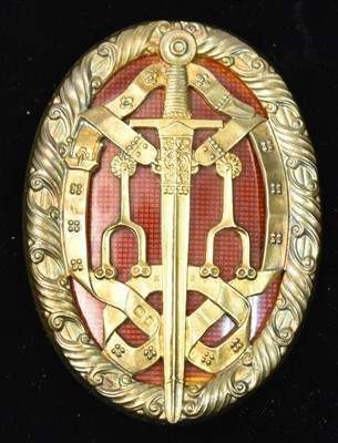 Lot 1514-The Knight Bachelor's Badge
