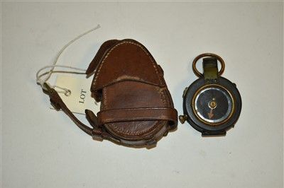 Lot 9-First World War compass